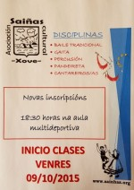 Inicio Curso 2015-16